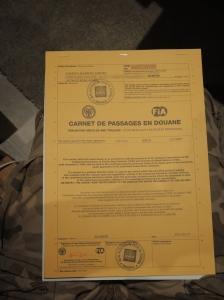 carnet de passage